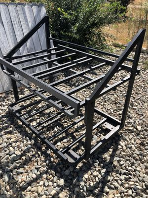 Tray stand rolling bench raised bed for Sale in San Jacinto, CA