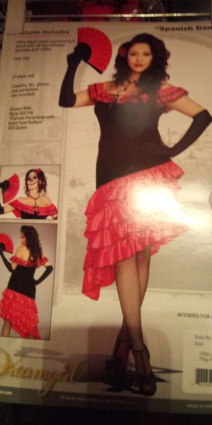 Adult Womans Spanish Costume Size 1X-2X Brand New for Sale in Columbus, OH