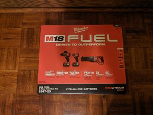 Milwaukee M18 Fuel 5.0Ah Combo Set (NEW) for Sale in Fort Wayne, IN