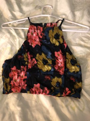 Abercrombie floral crop top for Sale in North Tustin, CA