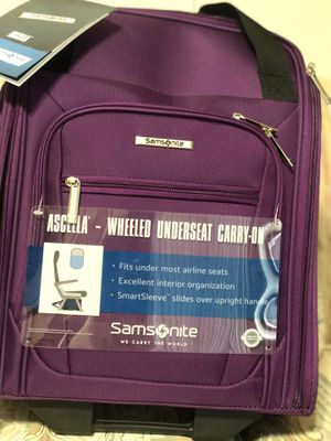 A Samsonite Wheeled Undersea Carry-On , brand new with tag. for Sale in Pinole, CA