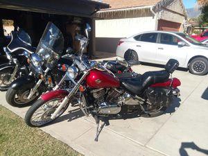 1995 kawasaki vulcan 800 motorcycle 24k miles! for Sale in San Bernardino, CA