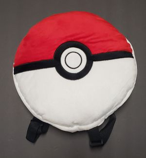 "NEW! Small Plush POKEMON ""Poke Ball"" Zippered Pouch Backpack $15 for Sale in Carson, CA"