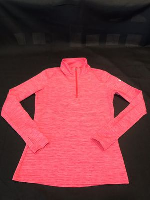 Nike Golf- Dry Fit women's Hot pink long sleeve pullover 1/4 zip up for Sale in Corona, CA