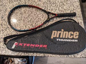 Prince thunder tennis racket for Sale in Littleton, CO