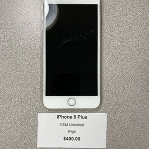 iPhone 8 Plus GSM Unlocked 64gb for Sale in Irwin, PA