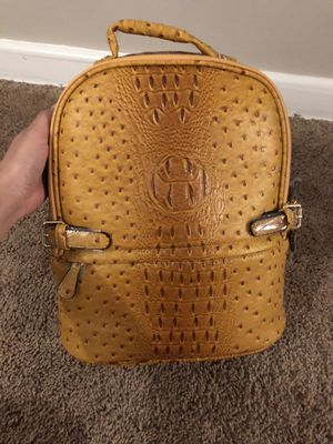 Mustard ostrich bag for Sale in Adelphi, MD