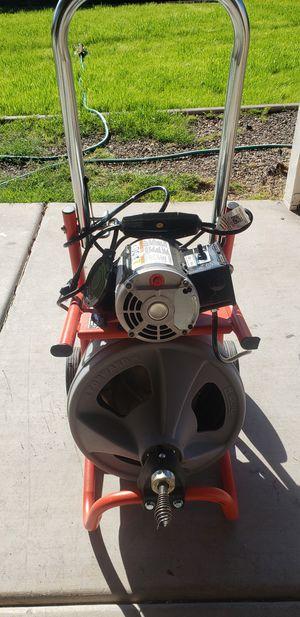Ridgid plumbing auger for Sale in Phoenix, AZ