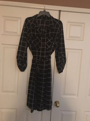 Black & White Checkered Dress (2X) for Sale in Romoland, CA