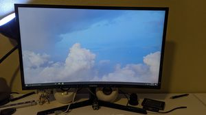 Samsung Curved 27 inches Monitor Full HD Freesync 1080 60Hz up to 72Hz after Freesync, 4ms Eye Saver for Sale in Westminster, CA