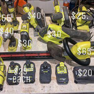 Ryobi Tools for Sale in Modesto, CA