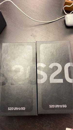 Galaxy s20 ultra 128GB Unlocked for Sale in Plantation, FL