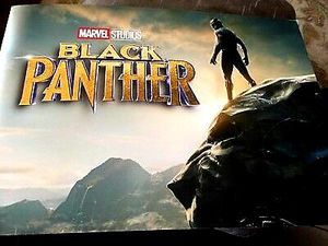 Black Panther 4 Pack Lithograph Set. Marvel Studios Disney store for Sale in Seminole, FL
