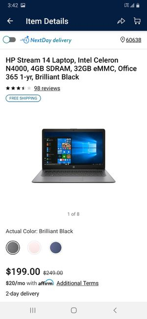 Hp stream laptop for Sale in Chicago, IL