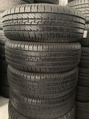 Set of tires like new 265/70/17 for Sale in Holly Springs, NC