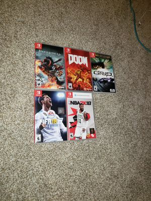 Nintendo switch games for Sale in Littleton, CO