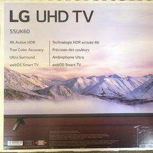 "55"" LG UHD TV for Sale in Jamul, CA"