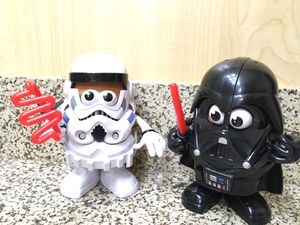 Collectable Playskool Star Wars Mr Potato Head Lot Darth Vader $42.00 for Sale in Garden Grove, CA
