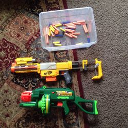 Nerf Guns With Bullets for Sale in Sumner,  WA