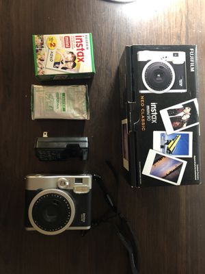 Instax mini 90 Neo Classic Instant Camera and film for Sale in New York, NY