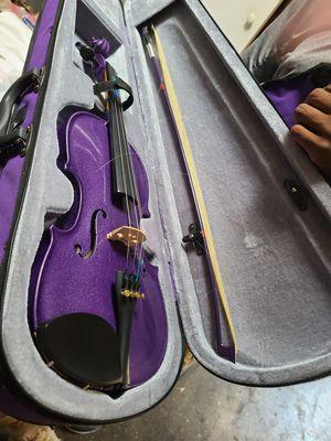 Purple sparkle kids violin for Sale in Vallejo, CA