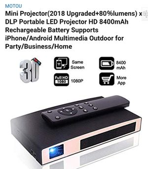 $200 3D PROJECTOR WIFI BLUETOOTH for Sale in City of Industry, CA