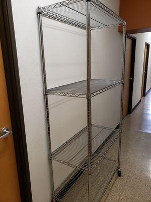 4 Shelf Heavy Duty Wire Shelving for Sale in Eugene, OR