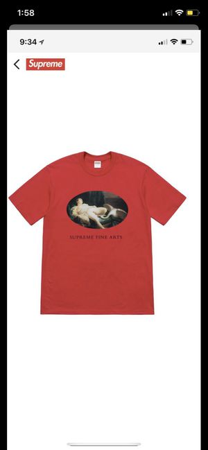 Supreme Leda and the Swan Tee Red for Sale in FL, US