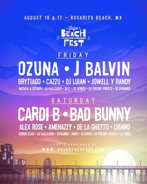Baja Beach Fest Tickets for Sale in Santa Maria, CA