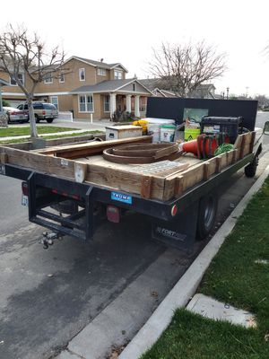 1991 Ford F350 flatbed 460 5 speed just passed smog current tags 12 foot bed good shape for Sale in Brentwood, CA