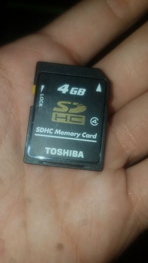 4 GB SD card for Sale in Sandy, OR