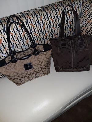 Authentic Coach handbags great gift for the holidays for Sale in Boulder City, NV