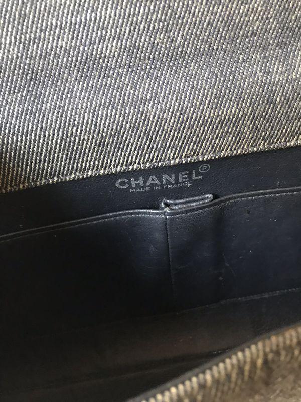 Vintage CHANEL denim bag