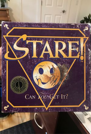 Test your memory with STARE board game for Sale in Newcastle, WA