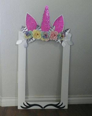 Unicorn picture frame for Sale in San Bernardino, CA