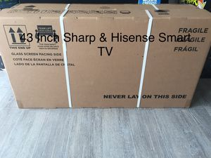 $39 DOWN/ 43 INCH SHARP 4K SMART TV 📺 for Sale in Chino, CA