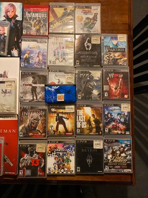 PS3 games and strategy guides for each final fantasy also and Pokémon xy 3ds for Sale in Philadelphia, PA