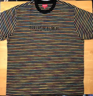 Supreme Static Tee Rainbow Black - XL for Sale in Parkersburg, WV