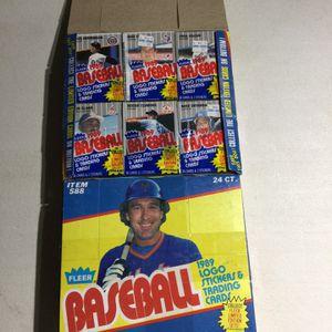 1989 Fleer Baseball Cello Unopened Boxes for Sale in Auburn, WA