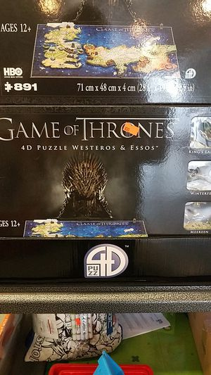 Game of Thrones 4D Puzzle for Sale in Phoenix, AZ