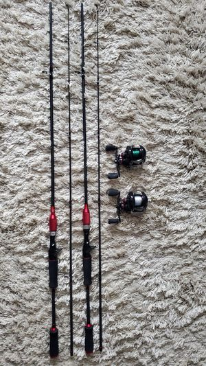 Fishing rods and reels for Sale in Brooklyn, NY