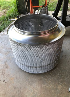 Witches cauldren, Halloween or campfire. SS washer tub for Sale in Riverview, FL