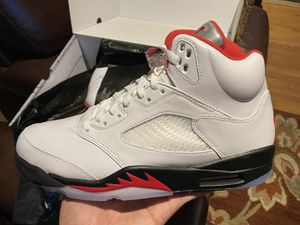 Air Jordan Retro 5 Fire Red for Sale in Silver Spring, MD