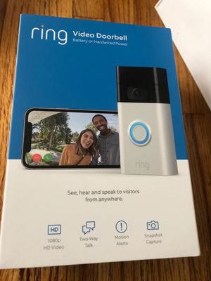 Brand new in box Ring video door bell!! for Sale in Rutherford, NJ
