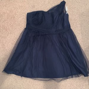 Davids Bridesmaid Dress Dark Blue Size 22 for Sale in Baltimore, MD