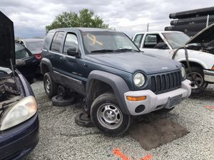 2002 Jeep Liberty Part Out for Sale in Stockton, CA