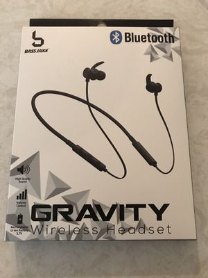 Brand new in box Bluetooth headphones. Great sound. Use for walking ,running or relaxing. for Sale in Pembroke Pines, FL