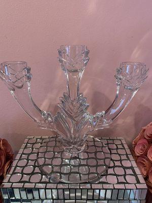Vintage Art Deco glass candelabra for Sale in Fort Lauderdale, FL
