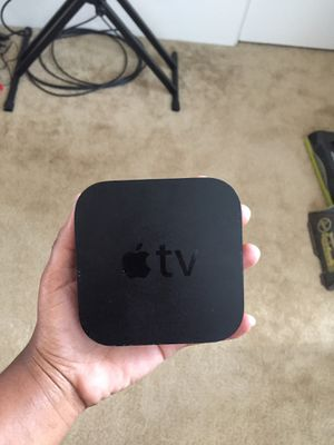 Apple TV comes with remote for Sale in St. Louis, MO
