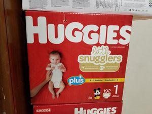 Huggies diapers size 1 for Sale in Phoenix, AZ